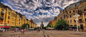 Timisoara Cathedral Square